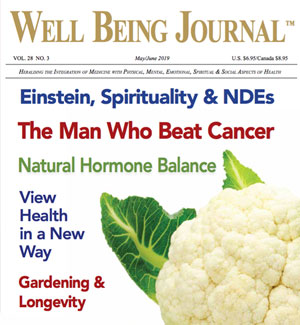 APRIL : Nature music + special feature in Well Being Journal