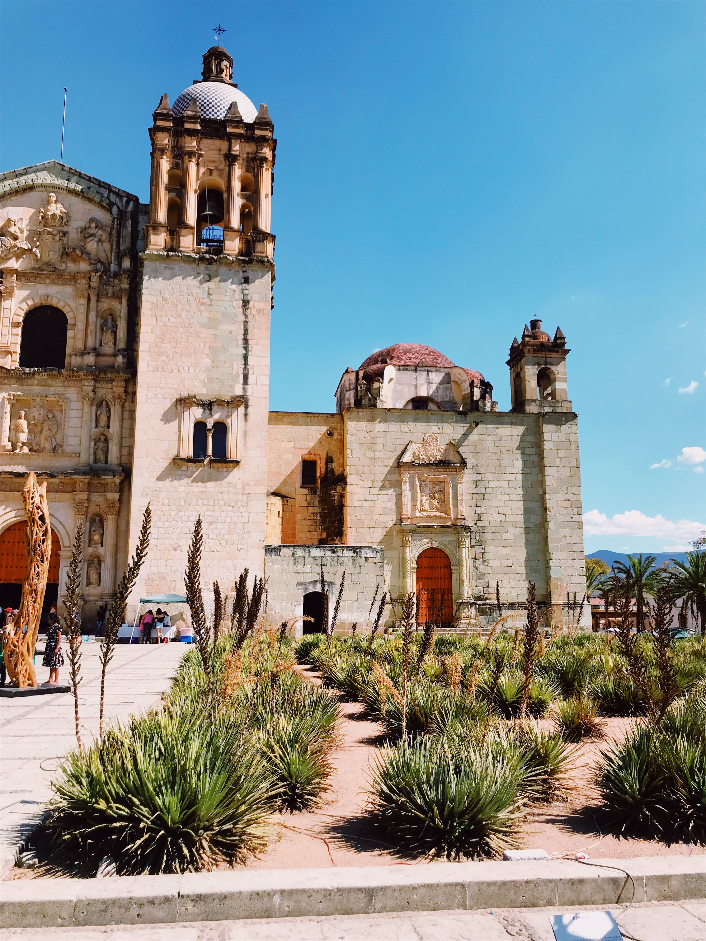 Oaxaca City - THIS VIBRANT CITY OFFERS MUCH MORE THAN YOU COULD POSSIBLY HOPE TO SEE IN A WEEK. ENJOY A WEEK OF INCREDIBLE FOOD AND BUSTLING MARKETS.CHOOSE FROM MEZCAL TOURS, ARTISANAL CRAFT TOURS, ANCIENT RUINS & NATURAL HOT SPRINGS. KIDS WILL LEARN ABOUT TRADITIONAL FABRIC DYING TECHNIQUES, WEAVING, FOOD PREPARATION, ART & STORY-TELLING, DANCING AND MUSIC. COMING SOON!
