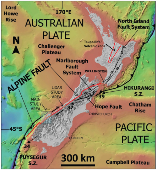 Map Of Taupo New Zealand.New Zealand A Natural Lab For Volcano Tectono Hydrothermal