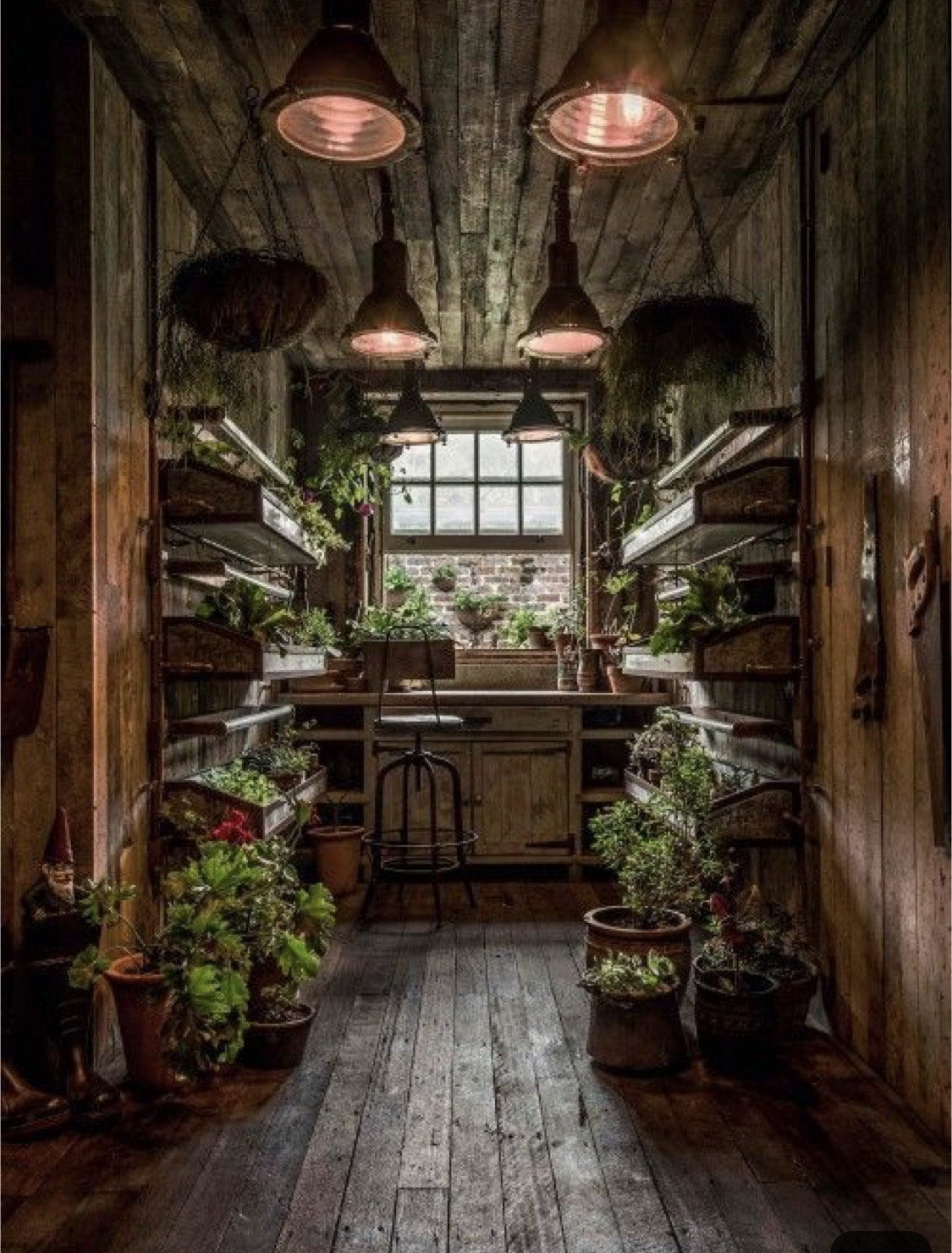 So I want to live in a potting shed. So what?