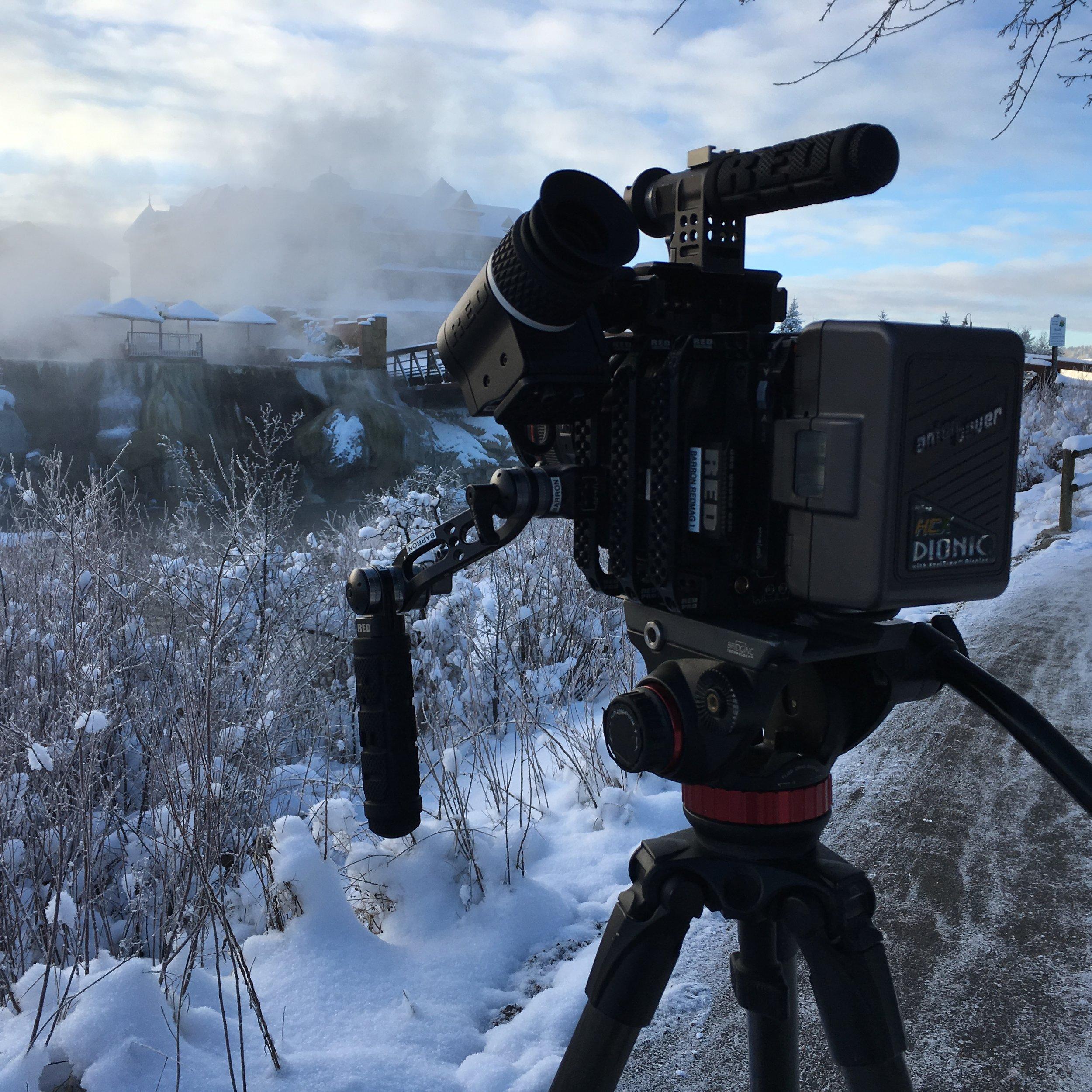 Commercial Shoot in Pagosa Springs, CO; Photo Credit: Anton Fresco
