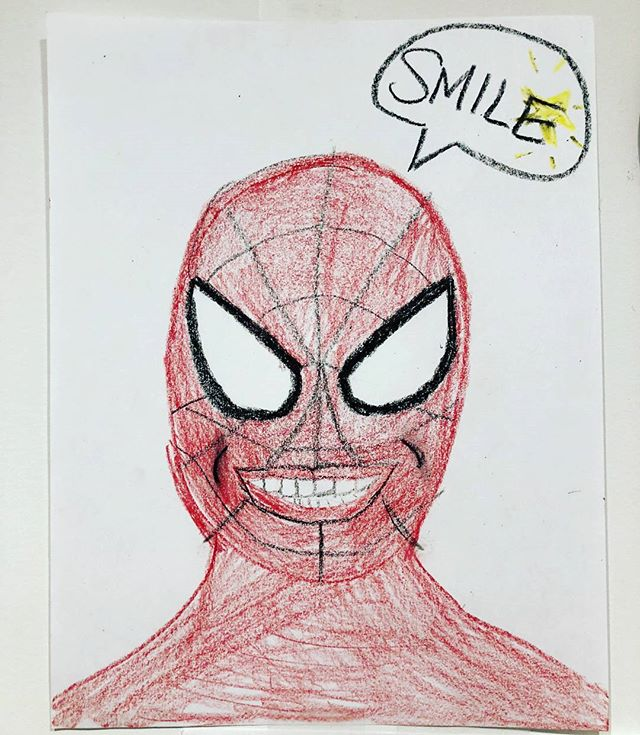 Hey #kids, even your friendly neighborhood Spiderman needs to see the Dentist! We love it when the little ones give us artwork to display on our walls! . . . . . #parenting #dearfield #family #dentistry #dentists #dentist #teeth #smiles #smiling #smile #pearlywhites #pearlywhite #sofreshandsoclean #teamworkmakesthedreamwork #artwork #spiderman #greenwichmoms