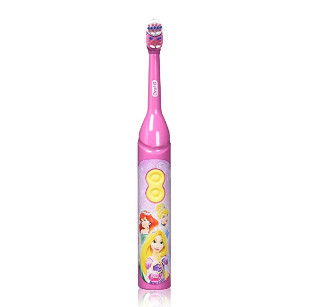 Oral-B Kids Battery Power Toothbrush featuring Disney Princess Characters