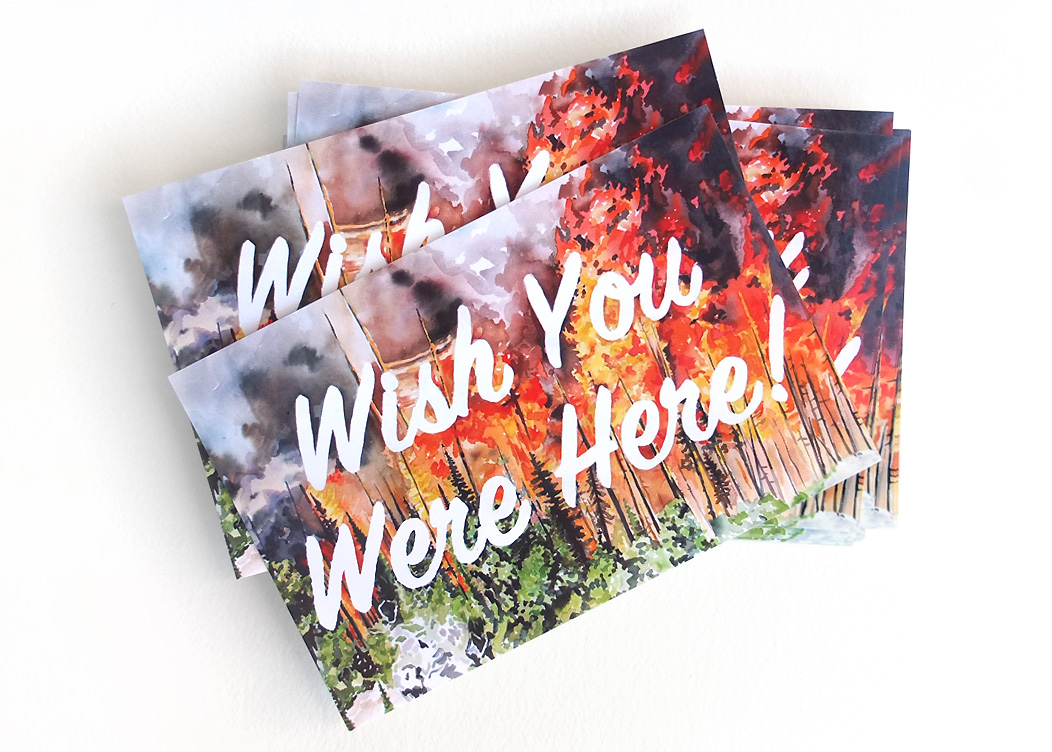"""""""Wish You Were Here"""" - Postcards"""