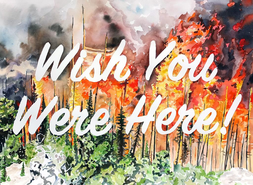"""Wish You Were Here!"""