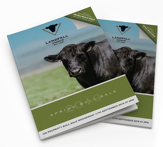 September is nearly here and we are exactly two weeks out from our 16th Annual Spring on property auction!  Our landfall catalogue has been sent out showcasing our 120 performance recorded bulls, amongst important sale notes, stories and recipes from the Archer family.  Not on the mailing list and want to check it out? Click on the link in our bio to see the online and PDF versions, as well as videos of our bulls.  If online isn't your style and you'd love a hard copy for yourself Frank can help you out via email - frank@landfall.com.au or phone on 0417 506 163.  #landfall #landfallangus #landfallfarmfresh  #angusaustralia #bullsale #angusbull #anguscattle #tasmania #farmstyle #tamarvalley #tasmania #australiancattle