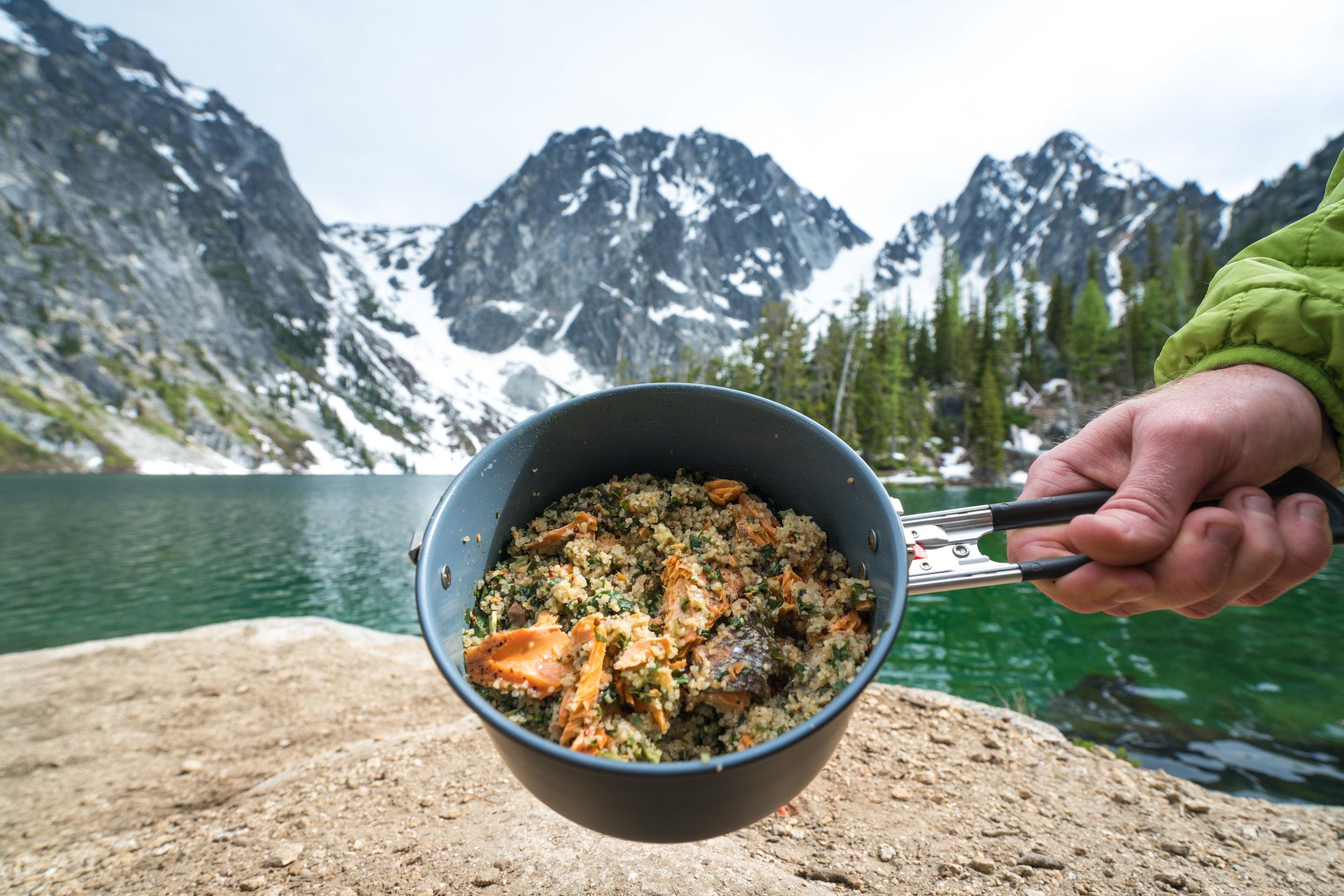 MSR_Gear_Patagonia_provisions_Washington_Lake_colchuck_cooking