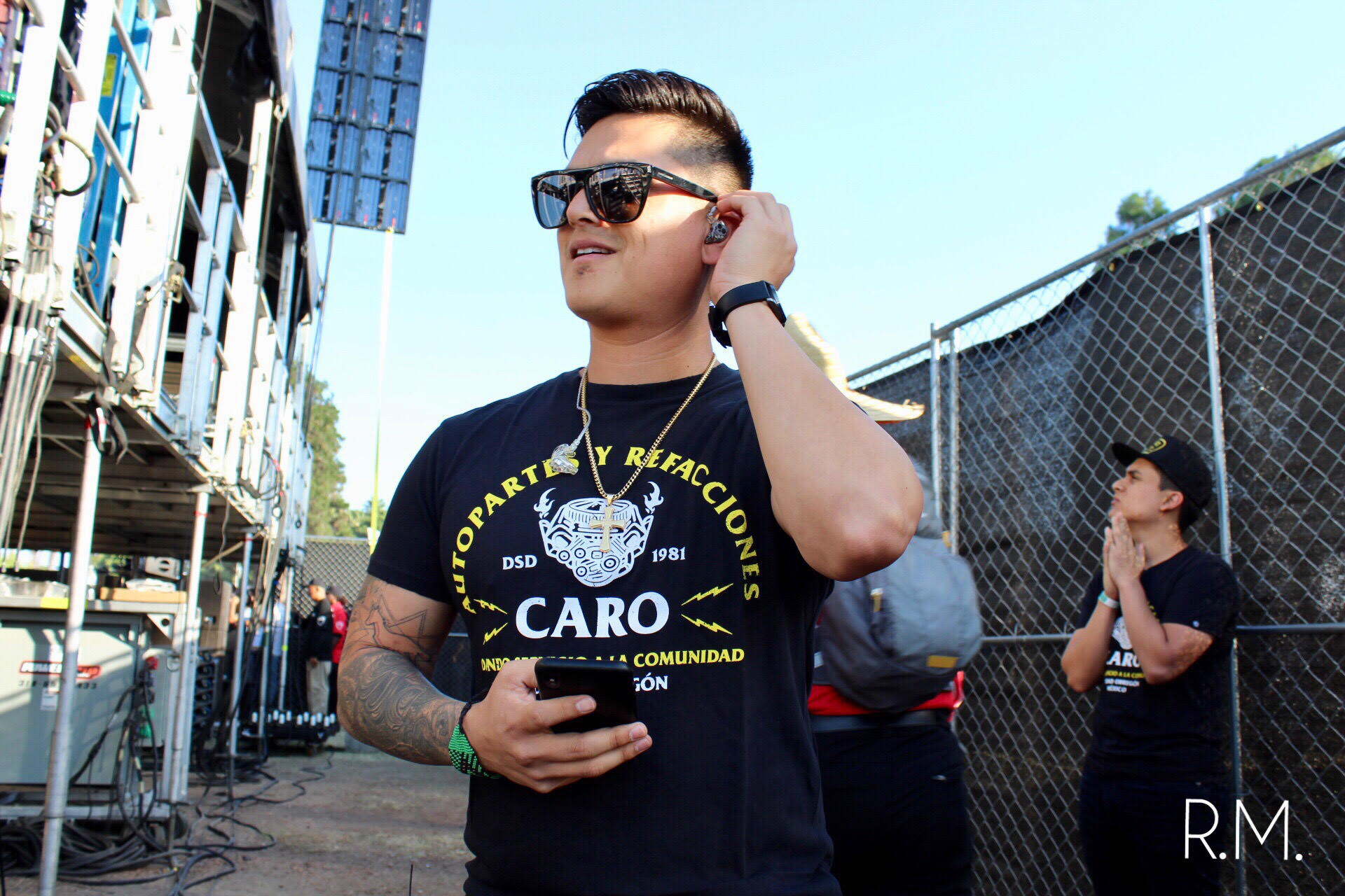 Regulo Caro by Roger Martinez