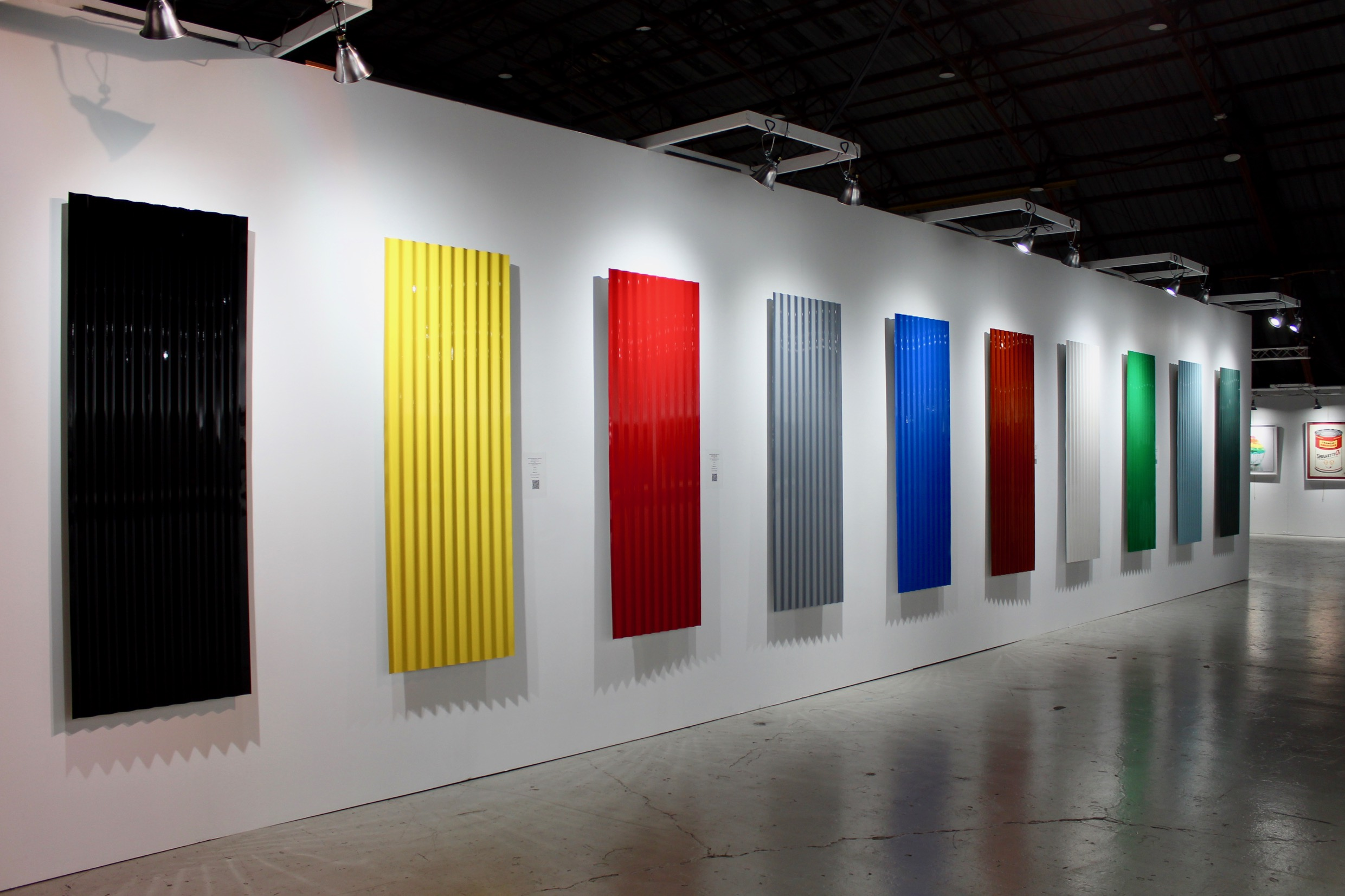 Rodrigo Cuala's car color exhibition