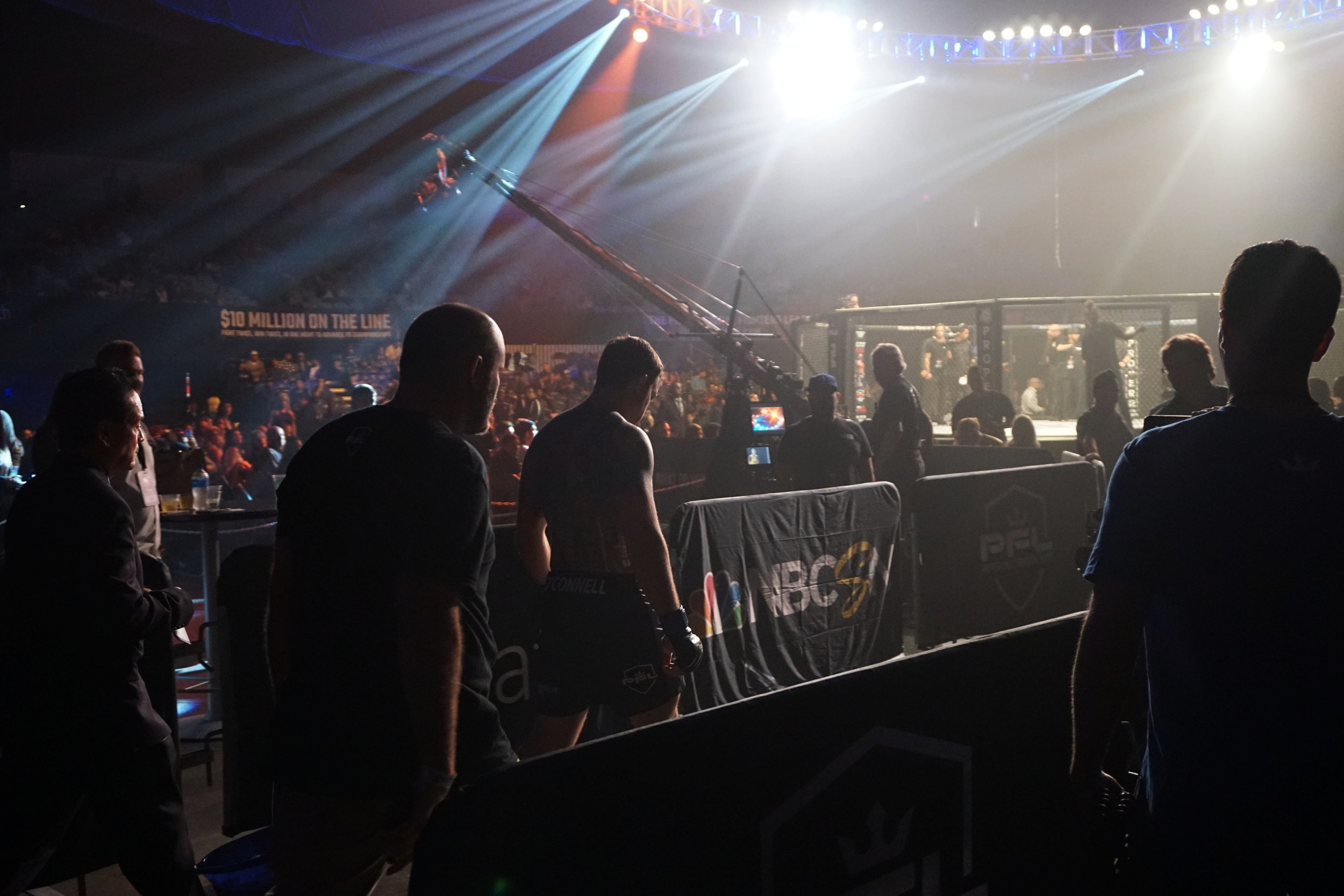 Professional Fighters League championship competitor Sean O'Connell by Andrea Antolini