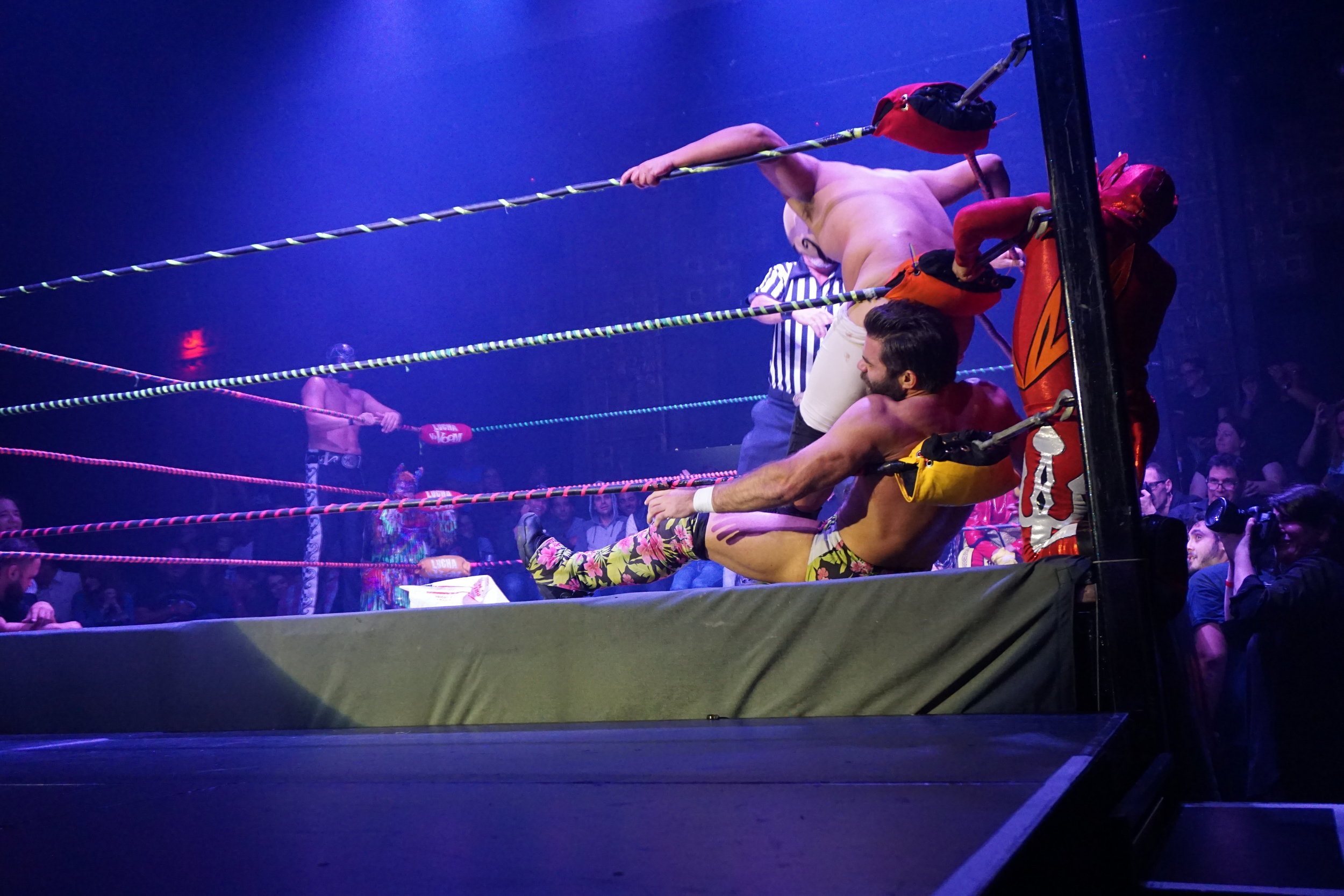 Dirty Sanchez, Joey Ryan, and Lil' Devil by Andrea Antolini