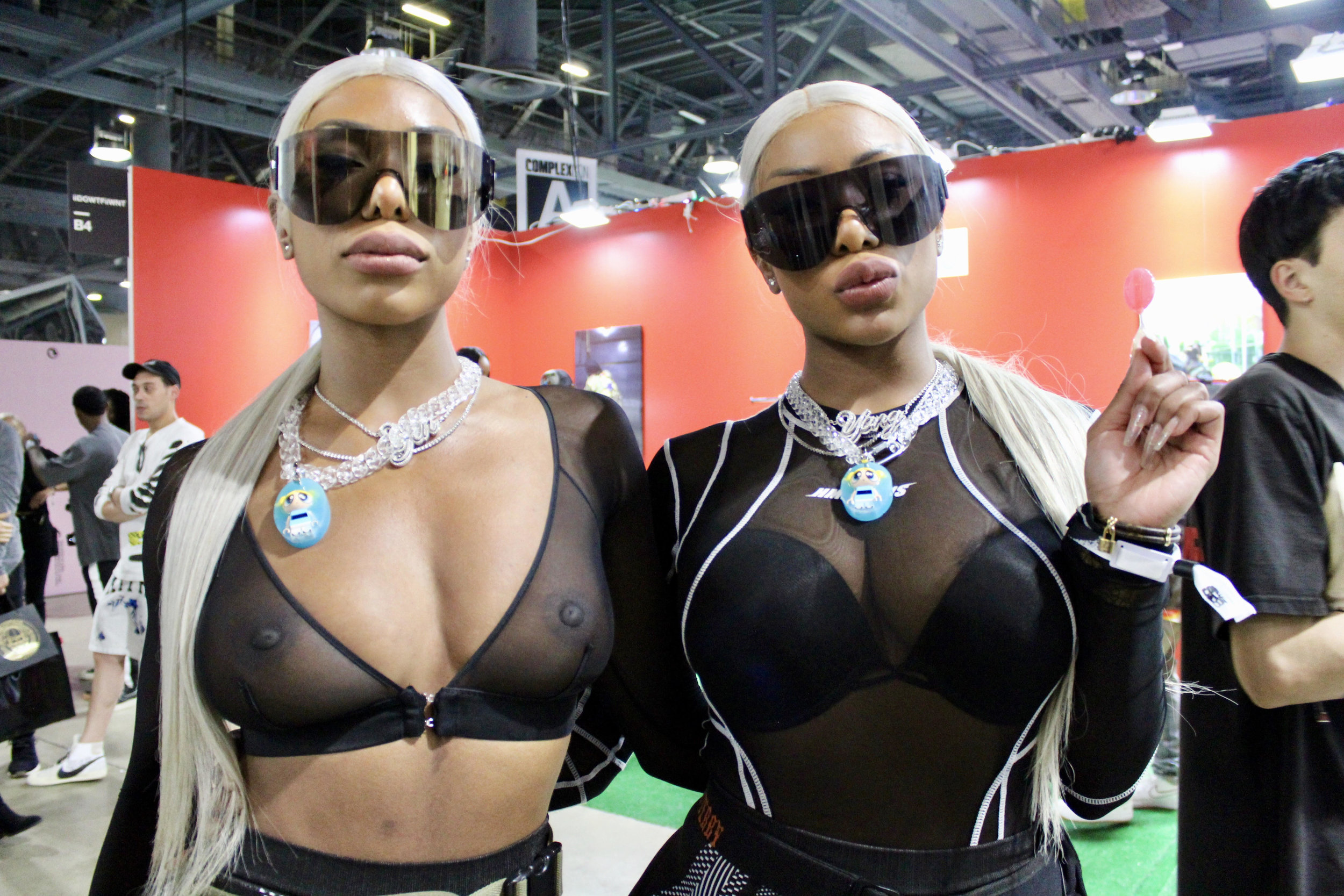 Shannon and Shannade Clermont twins