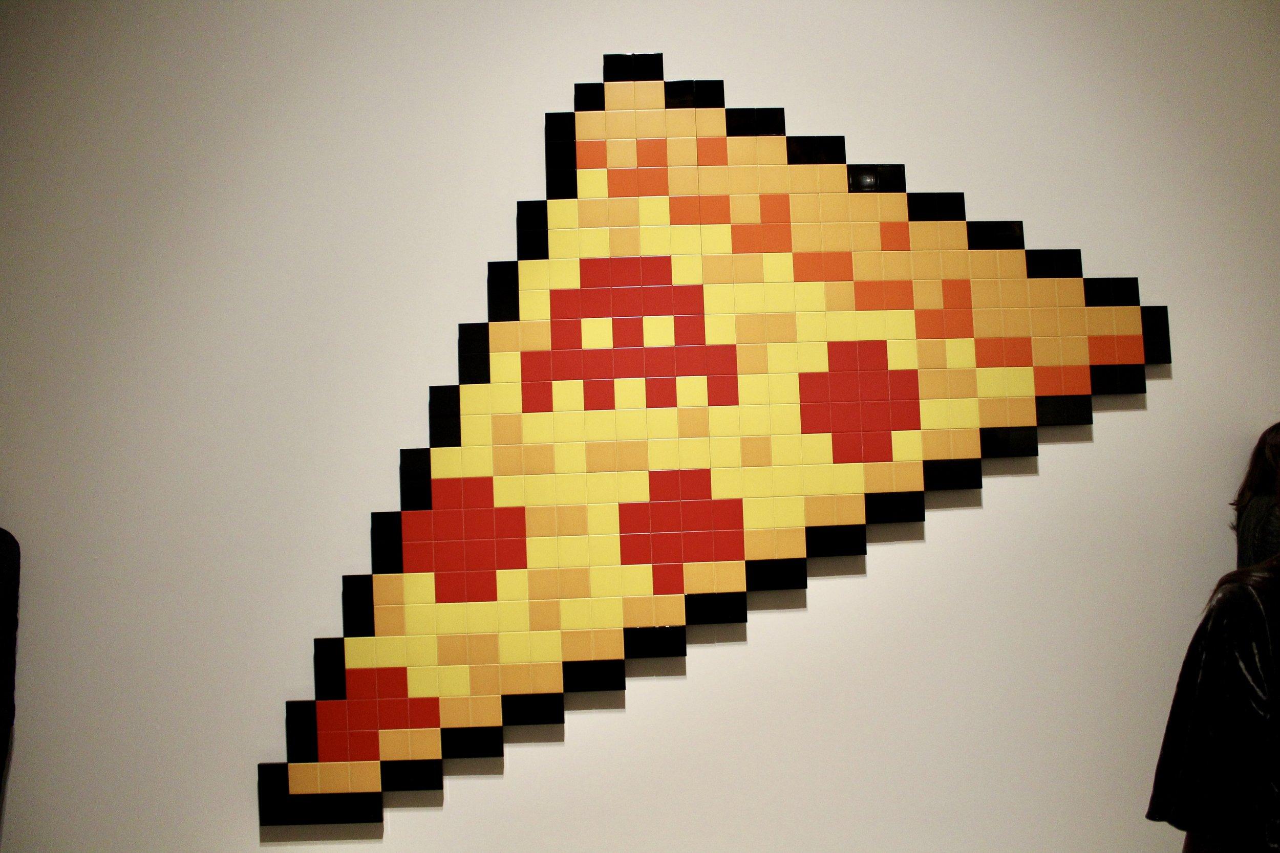 Invader pizza