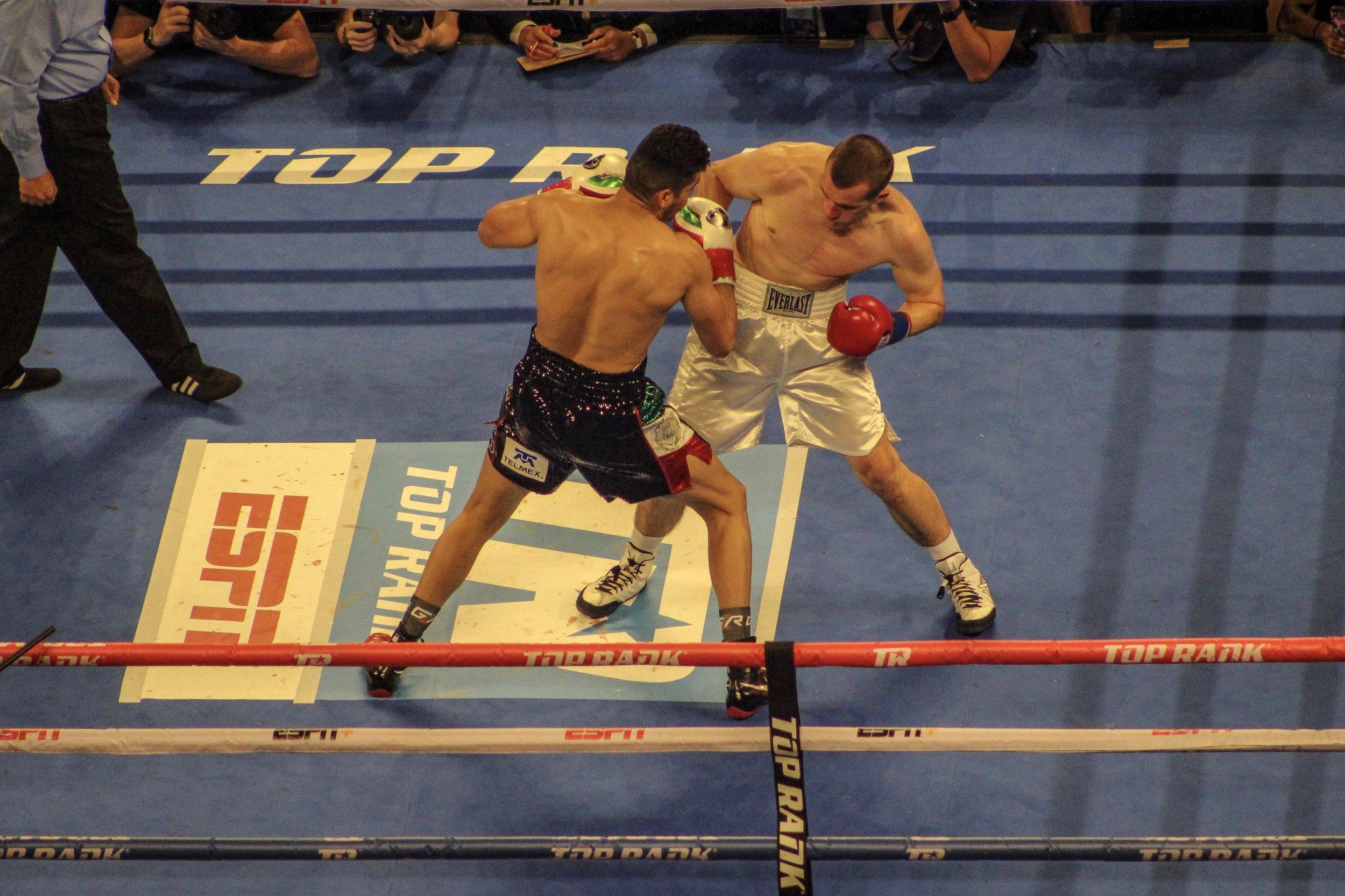 Karpency vs. Ramirez by Roger Martinez