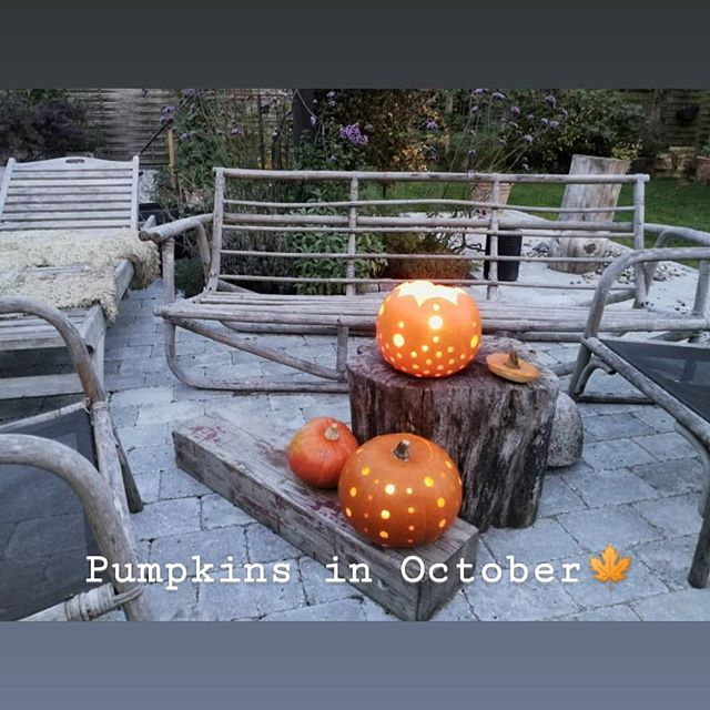 October Days 🍁🙌🍂 #pumpkin #pumpkinseason #pumpkincarving #october #græskar #creativepumpkin