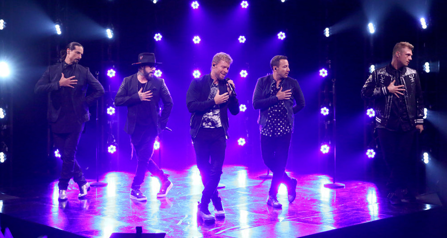BACKSTREET BOYS - JIMMY FALLON