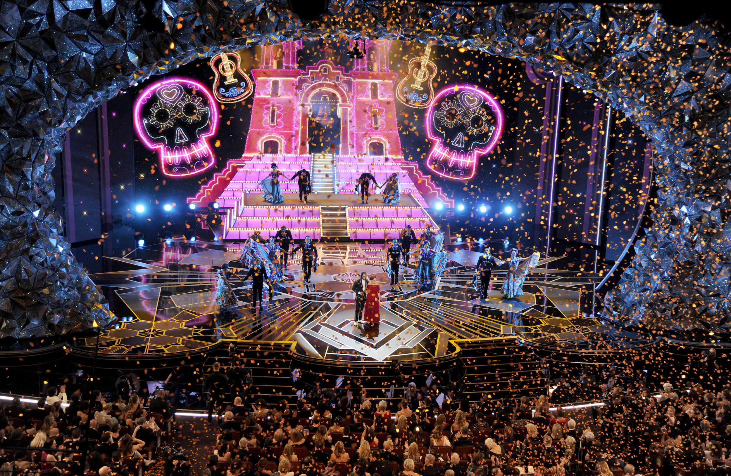 90TH OSCARS - COCO PERFORMANCE WITH MIGUEL / NATALIA LAFOURCADE