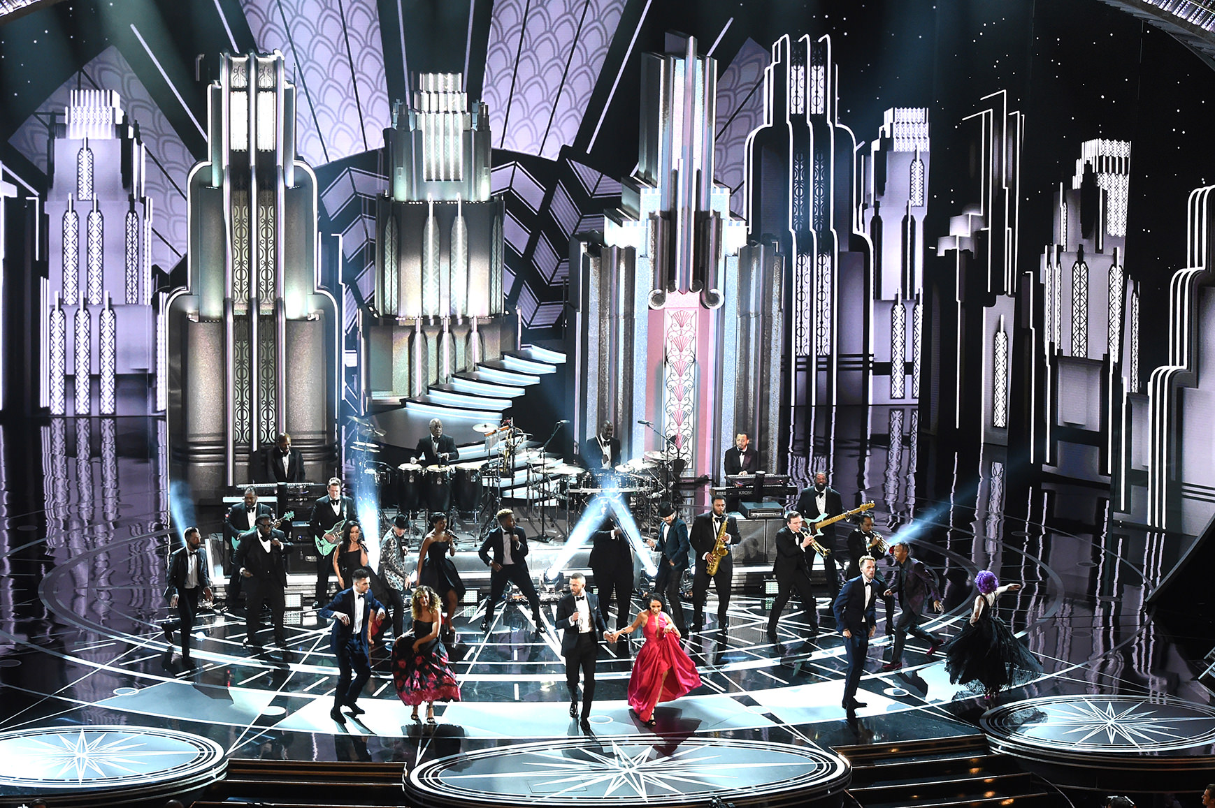 89th OSCARS - JUSTIN TIMBERLAKE OPENING PERFORMANCE