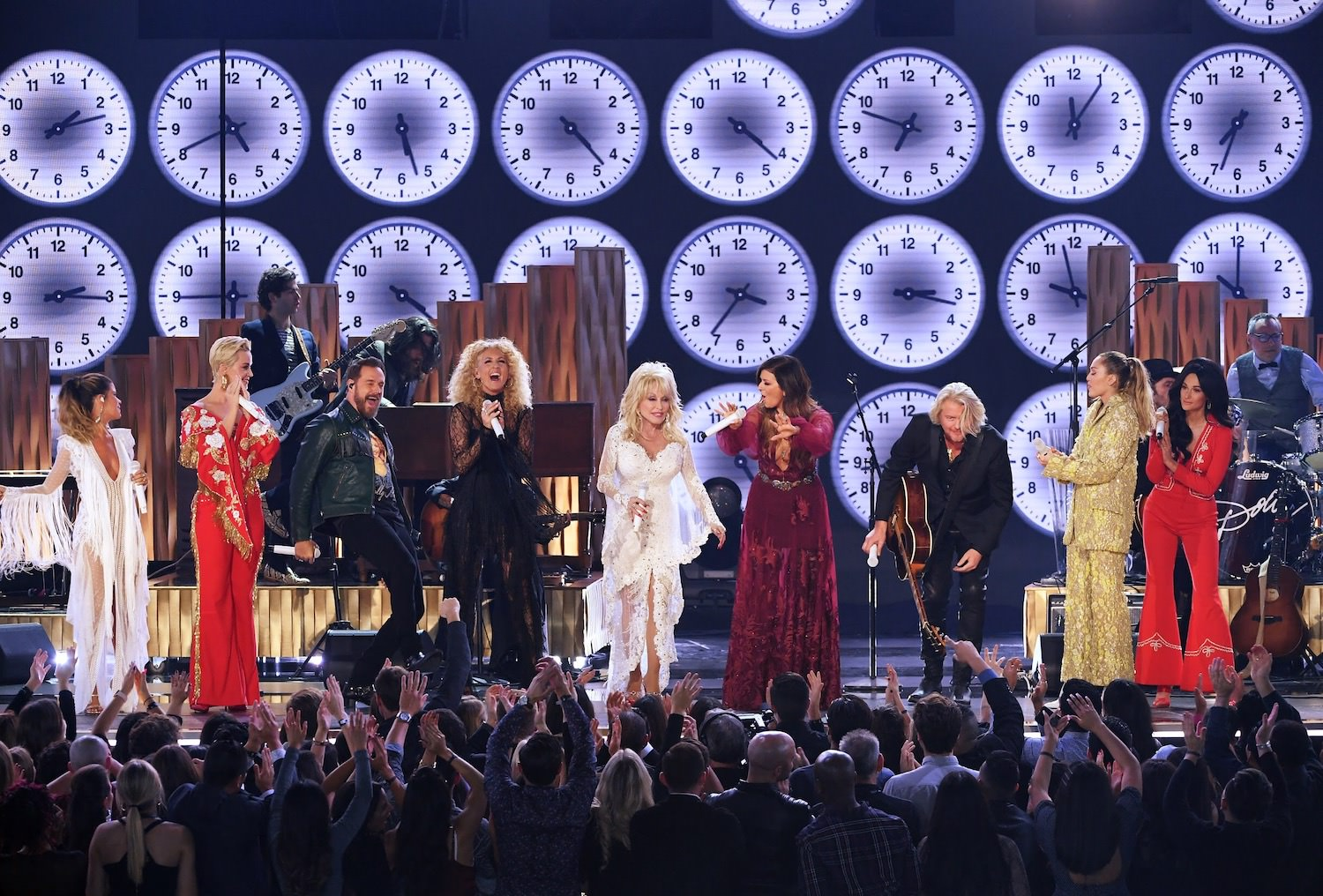 61St GRAMMYS - DOLLY PARTON / LITTLE BIG TOWN / MILEY CYRUS / KATY PERRY / KACEY MUSGRAVES / MAREN MORRIS