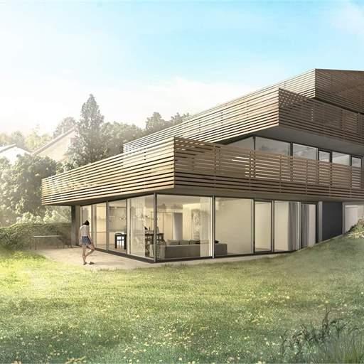 Terrassenhaus Neubau in Flurlingen: Jetzt letzte Eigentumswohnung kaufen.