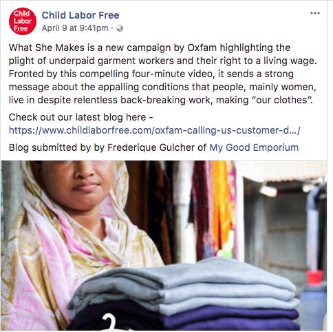 Child Labor Free blog