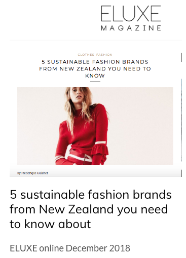 5 SUSTAINABLE FASHION BRANDS FROM NEW ZEALAND YOU NEED TO KNOW