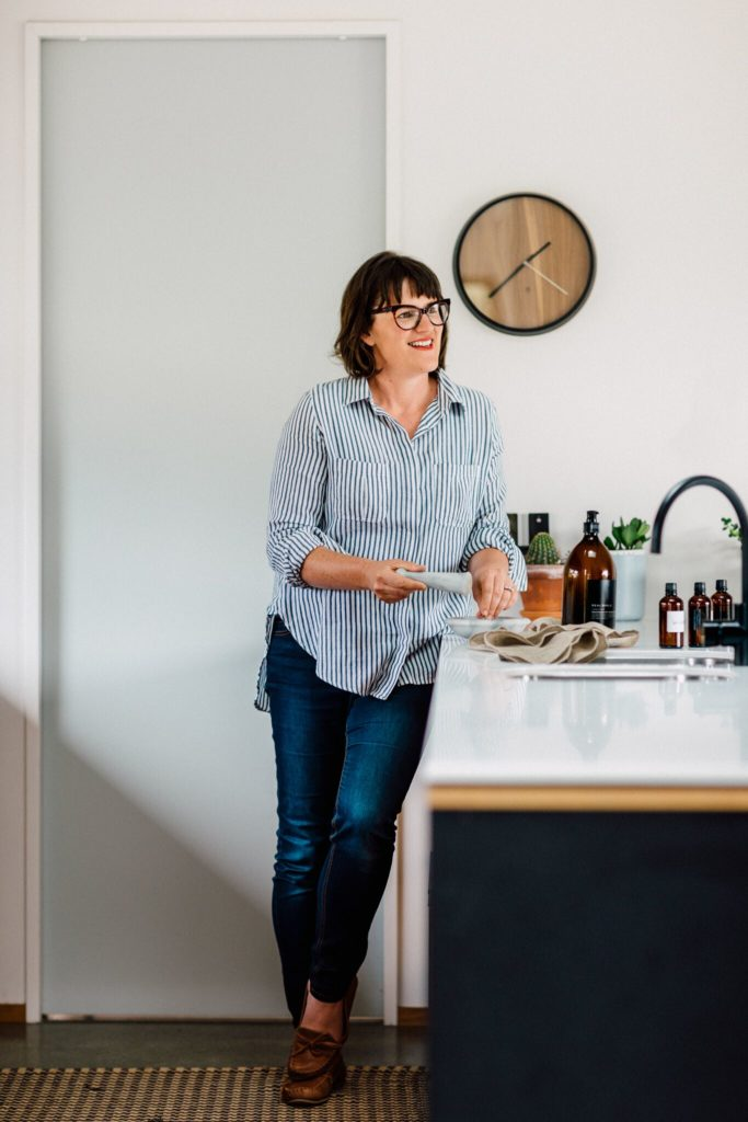 Get real! The story of one incredibly cool glass bottle of dishwash liquid - An interview with Nicola Mossman, Founder of Real World, plant-based body and skincare products.