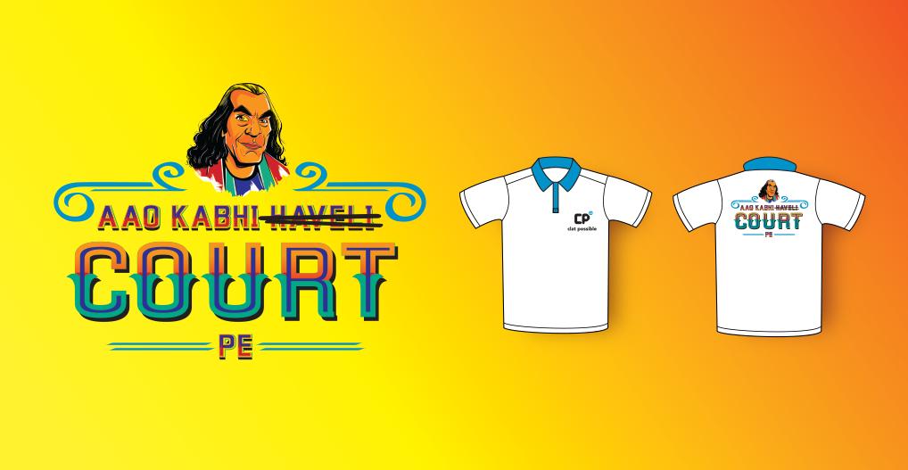 T-Shirt design for Clat Possible Seminar