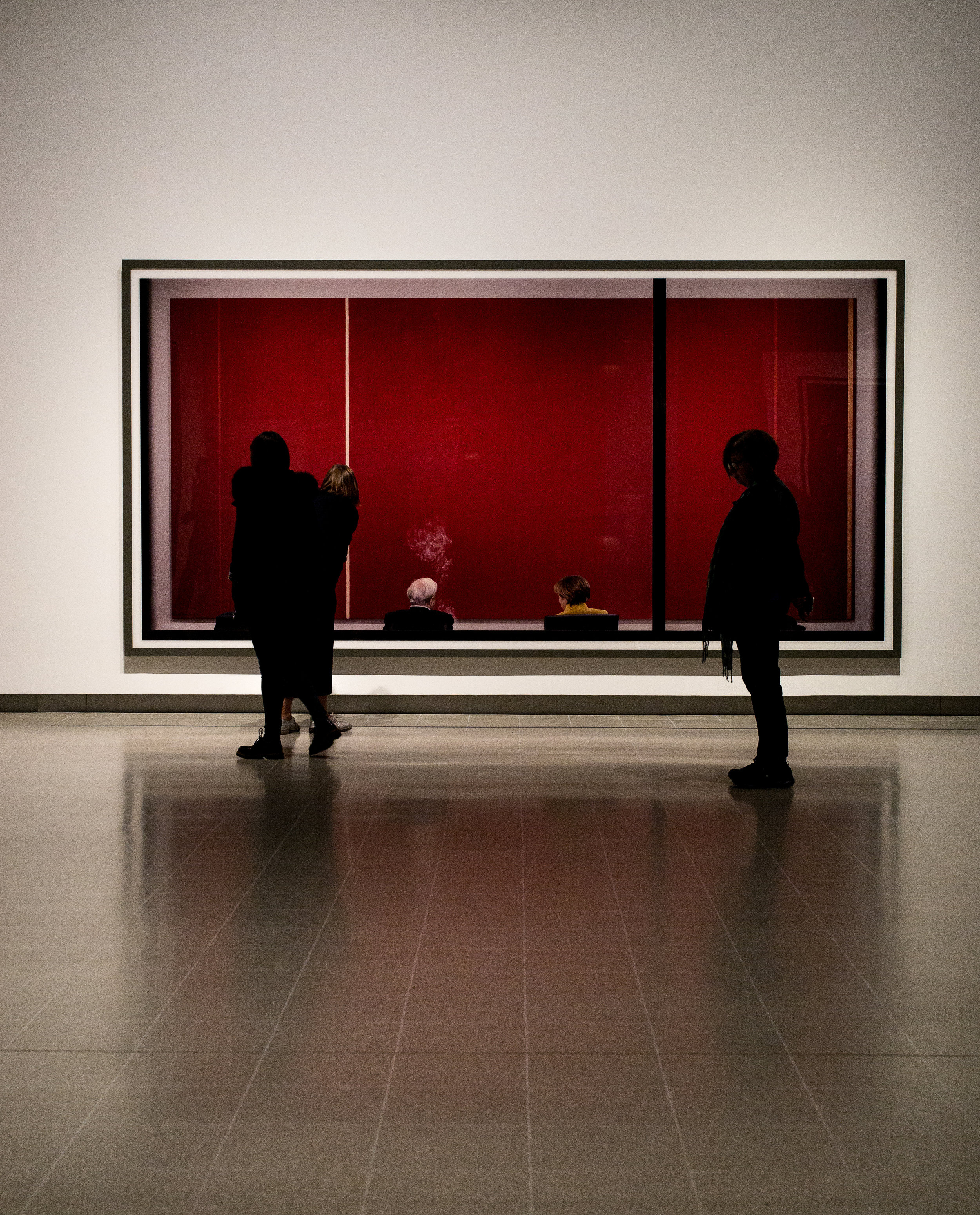 Gursky - re-opens the Hayward Gallery in London.
