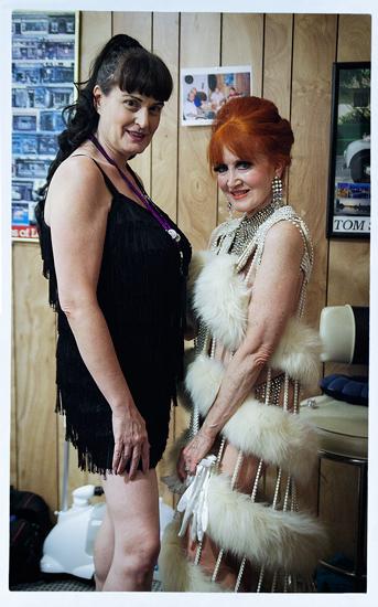 Lili VonSchtupp and Stephanie Blake