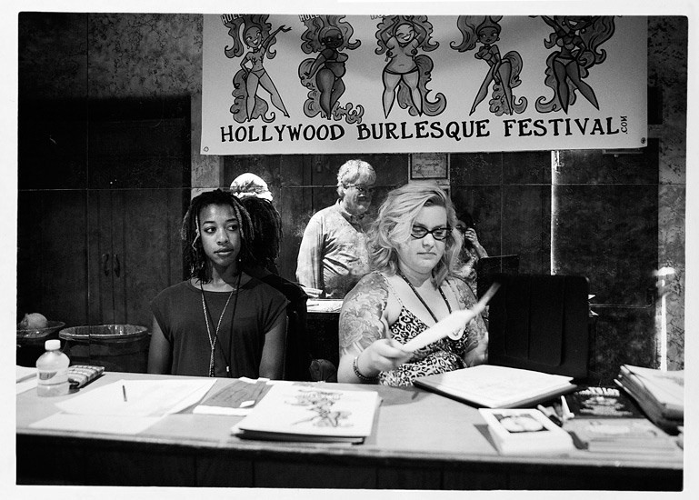 The Mayflower Club  Hollywood Burlesque Festival, 2013