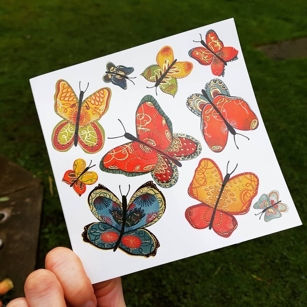 Butterflies for dad