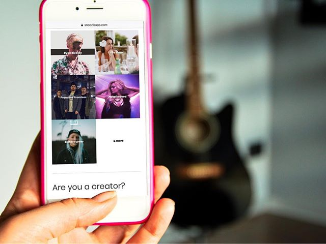 You can now Wake Up To brilliant content creators as your alarm tone, every morning, with just one simple toggle switch 🧡! These are some of the talented musicians letting you awesome people Wake Up To New Music via our new alarm building feature. . Drop them a follow on Insta, wake up to them on Snoozle, and discover & support creators around the world 😇✅ . #newmusic #alarm #creator #wakeupartist