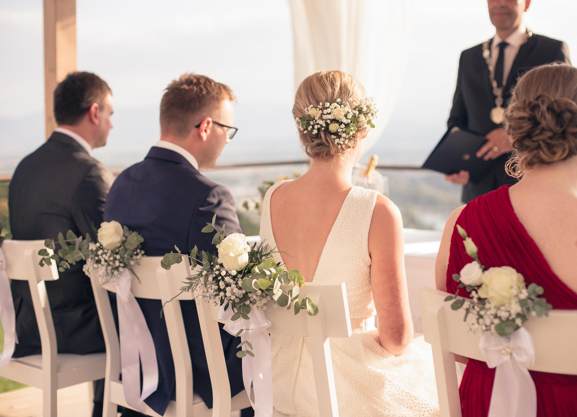 Civilni obred na prostem poročni fotograf Lumeria