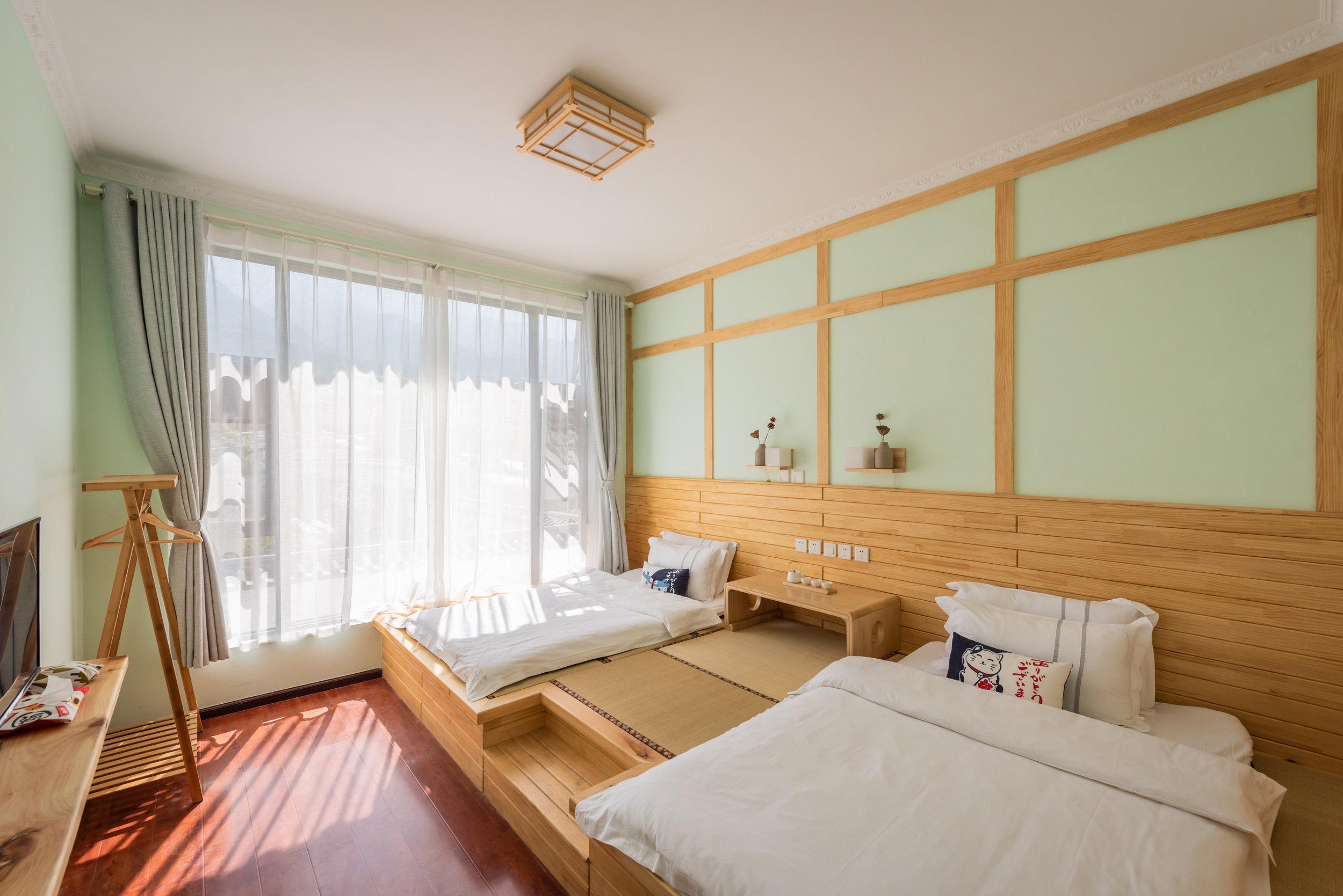 Guest Room 2@ Akitaya Guesthouse Dali 大理秋田家精品客栈