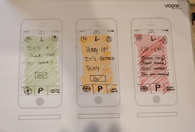 Some wireframing examples