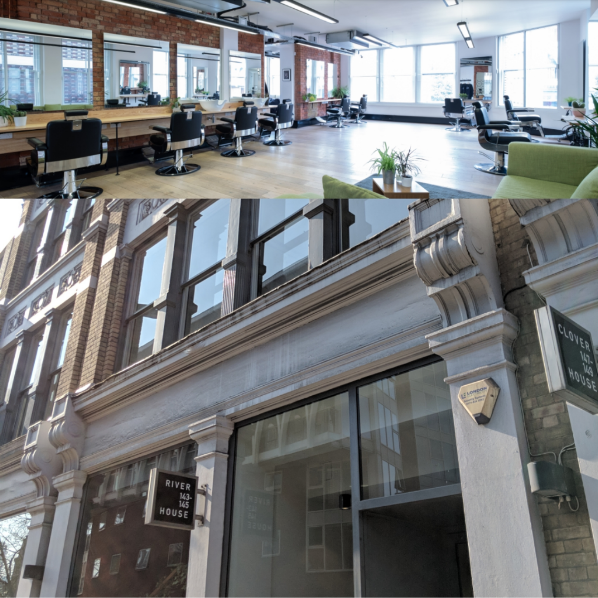 The Hunter Collective is located on the Second Floor of River House on the Farringdon Road facing the NCP Car Park. It's a 2000sqft of co working space for all members and clients. Complimentary WIFI and drinks come as standard when having any service provided by the members.