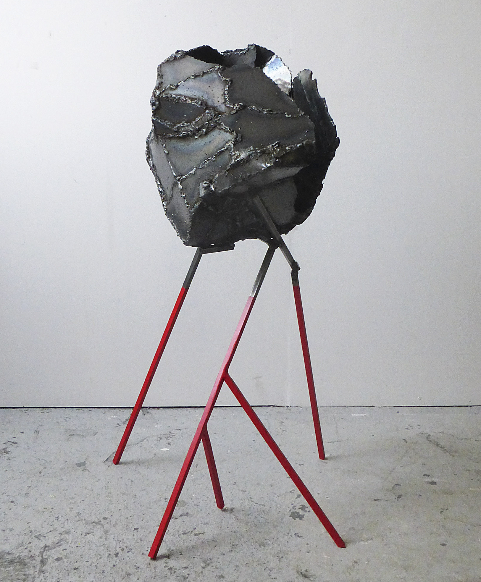 Gribaudi Plytas,  Meteor,  Mild steel, spray paint, clear lacquer