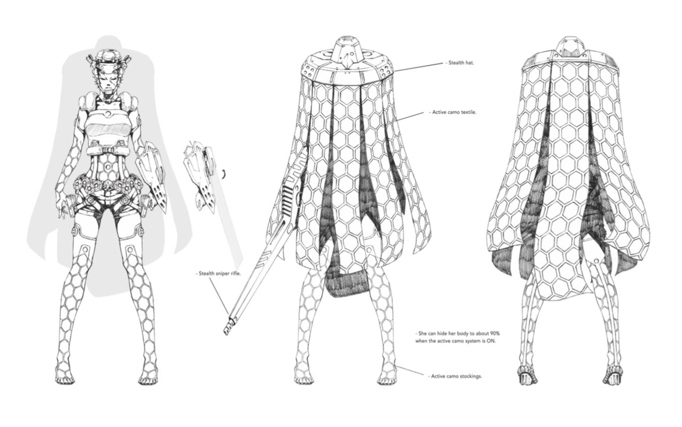 Furi, concept art