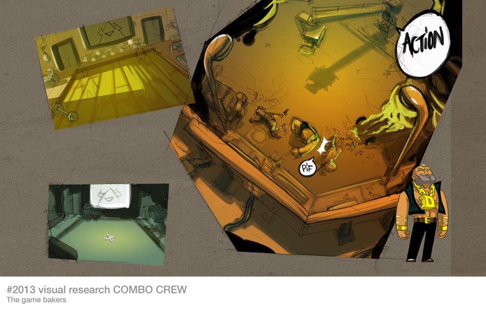 Combot Crew, concept art.