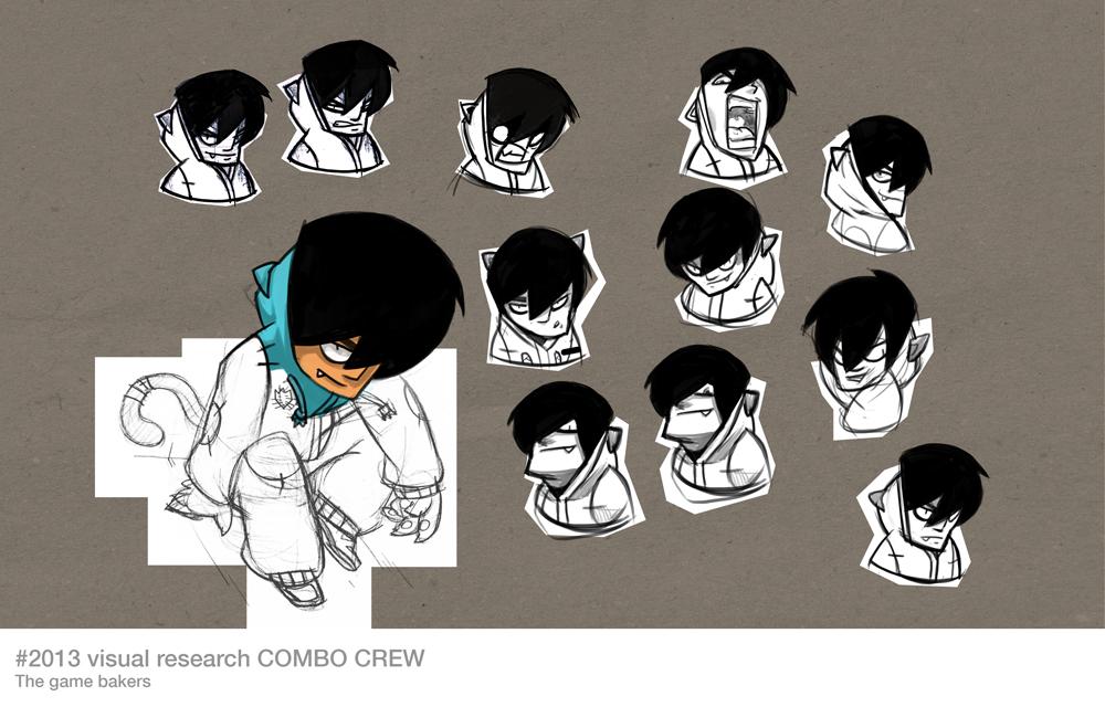 Combo Crew, concept art.