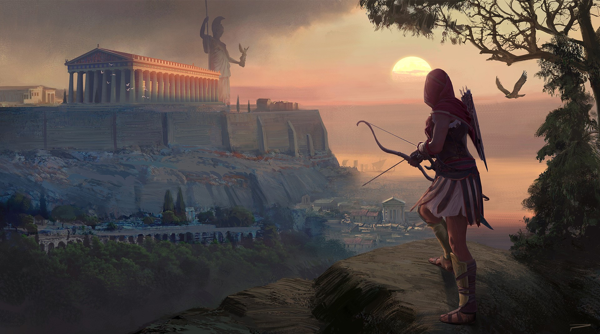 © Hugo Puzzuoli, Kassandra's Journey, Assassin's Creed Odyssey, Ubisoft.