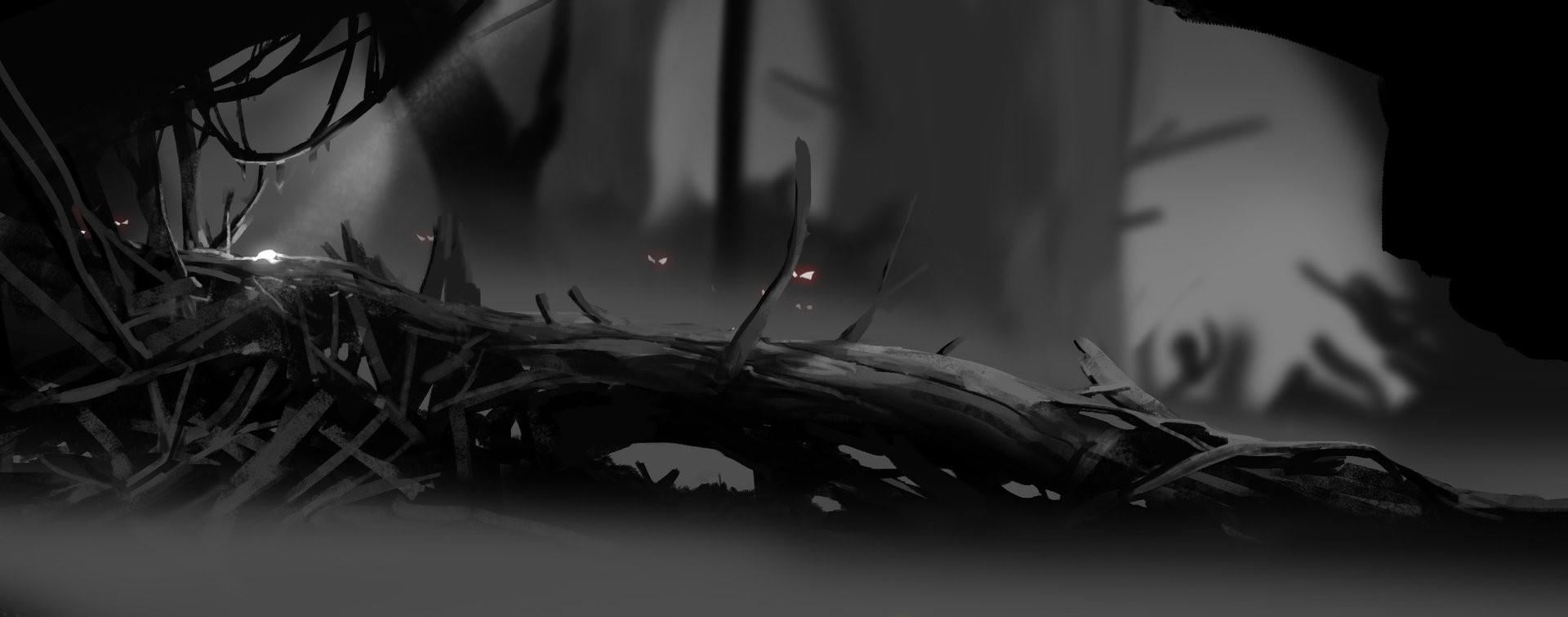 © Maximilian Degen, Concept art,  Ori and the Blind Forest , Moon Studios, Microsoft Studios.
