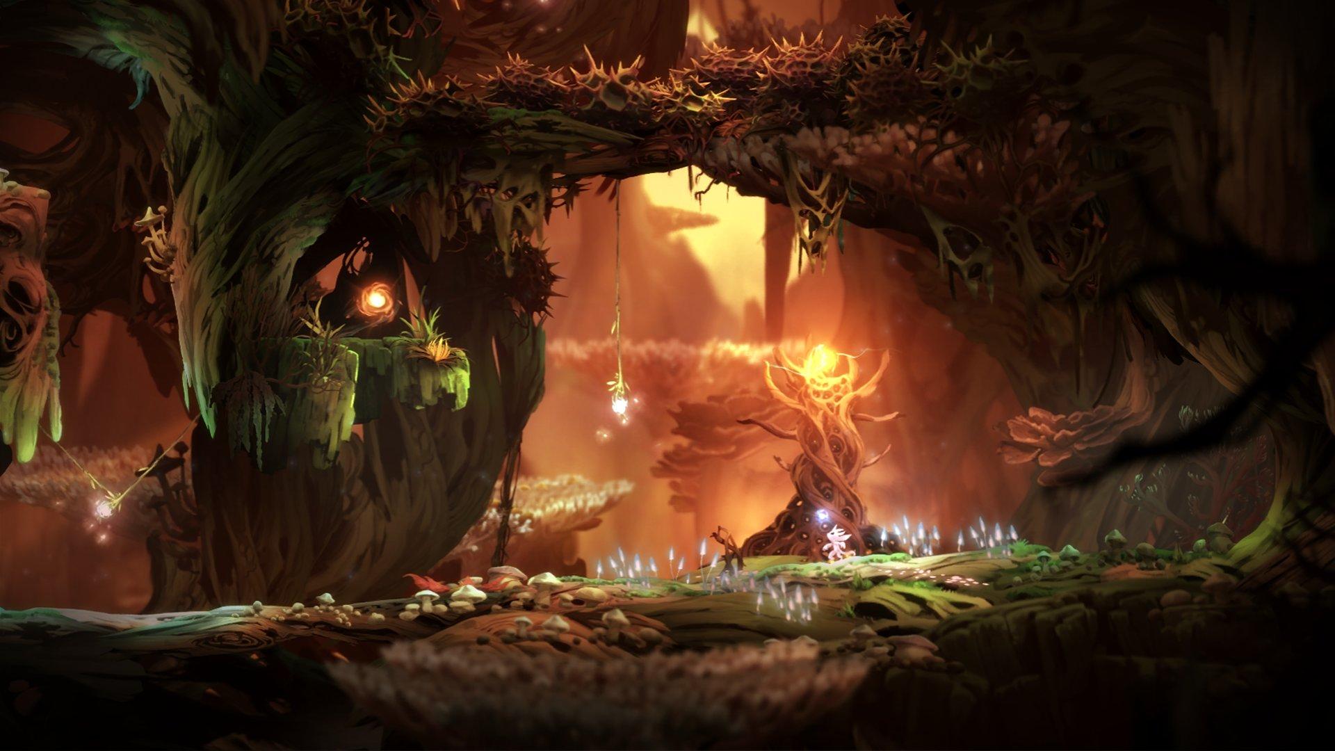 © Simon Kopp, Keyframe,  Ori and the Blind Forest , Moon Studios, Microsoft Studios.