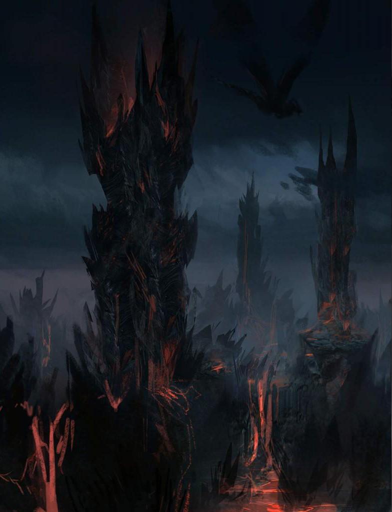 © Hidetaka Miyazaki (D.A), Concept art,  Dark Souls II , From Software, Namco Bandai.