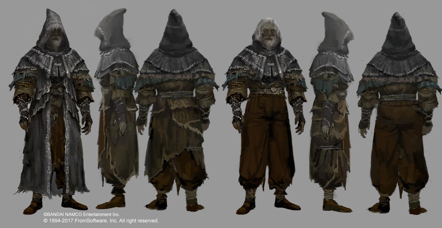 © Michael Chang, Hidetaka Miyazaki (D.A), Concept art,  Dark Souls II , From Software, Namco Bandai.