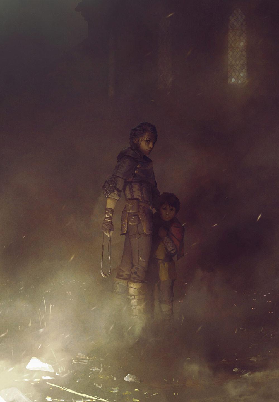 © Olivier Ponsonnet, Concept art, A Plague Tale: Innocence, Asobo Studio, Focus Home Interactive