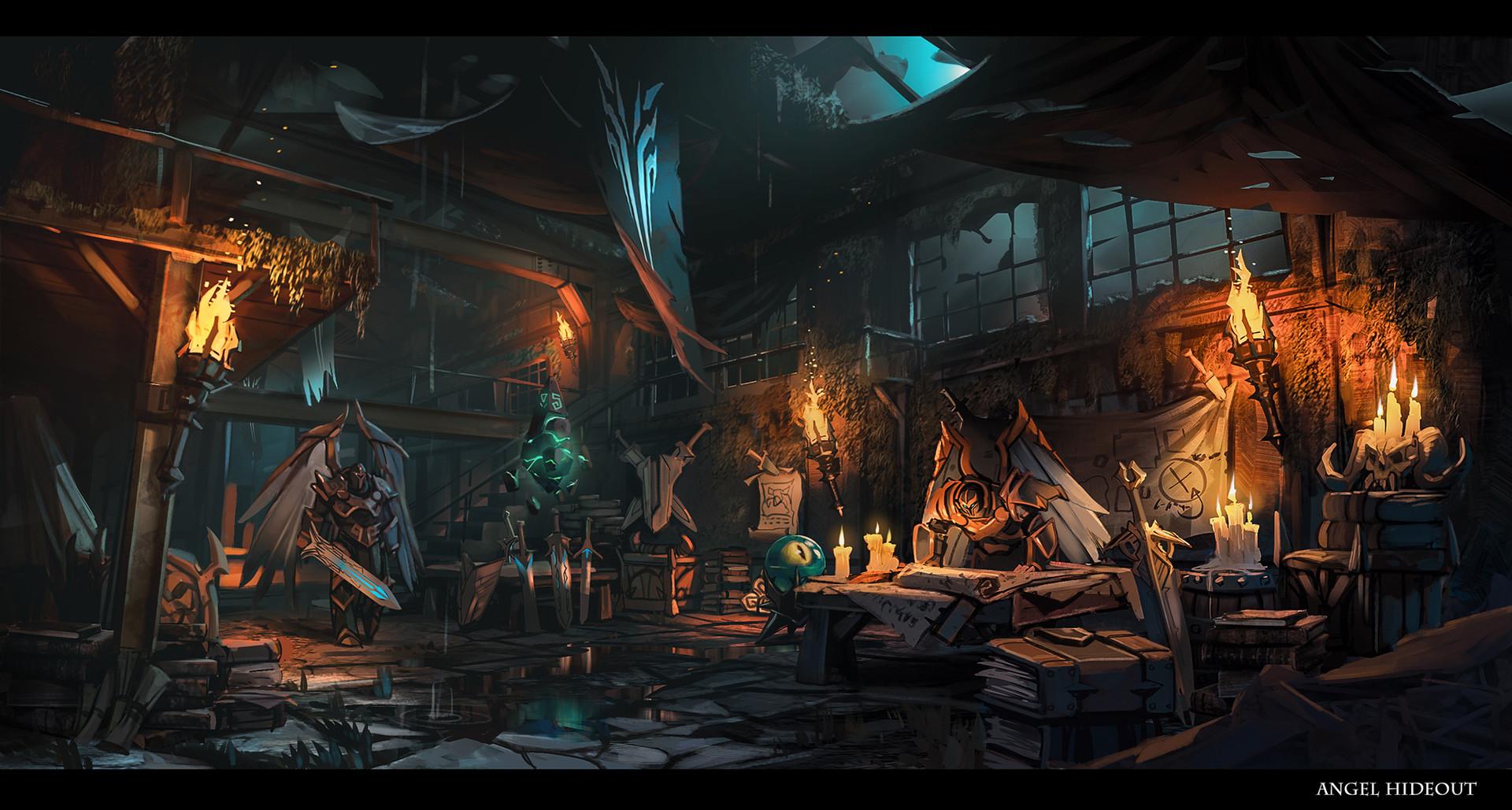 © Daryl Mandryk, Concept art, Darksiders 3, Gunfire Games, THQ Nordic, 2018.