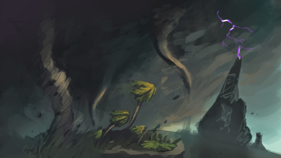 © Wesley Martin, Concept art, Outer Wilds, Mobius Digital, Annapurna Interactive, 2019.
