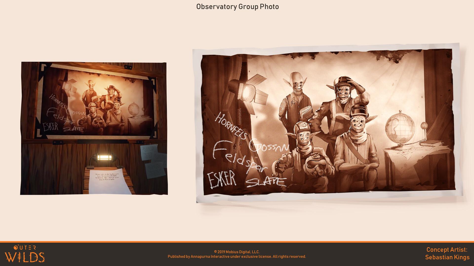 © Sebastian Kings, Concept art, Outer Wilds, Mobius Digital, Annapurna Interactive, 2019.